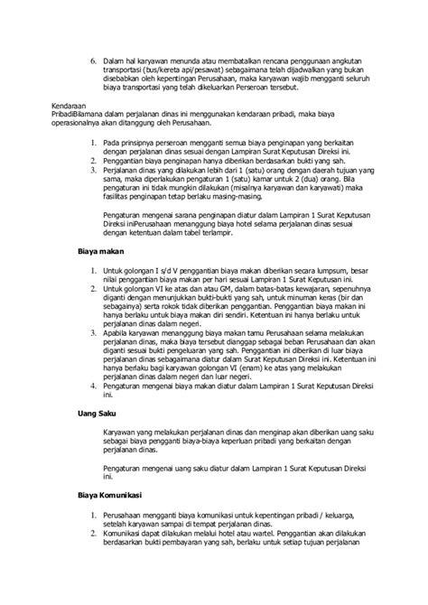 Contoh Surat Perjalanan Dinas Karyawan Swasta by Perjalanan Dinas Info