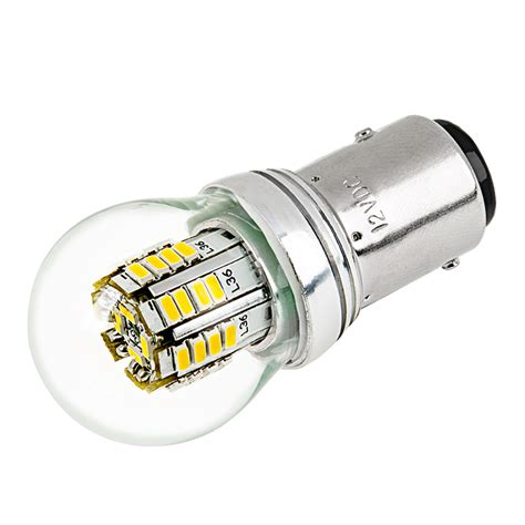 1157 led bulb w stock cover dual function 36 smd led