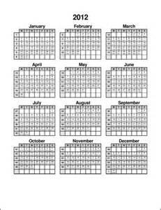 Julian Date Calendar Printable