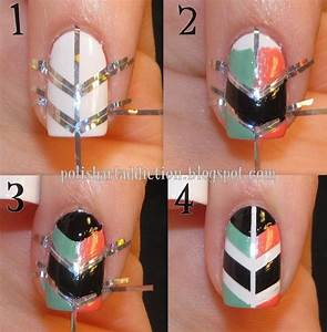 Nice tutorial nail art designs picture