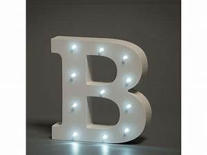 light up letter b spencer thorn With home light up letters