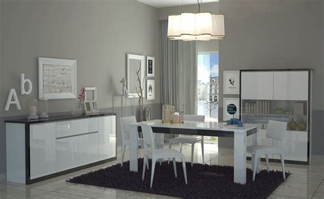 mobile sala pranzo tavolo bianco collezione avana mobile cucina sala da pranzo