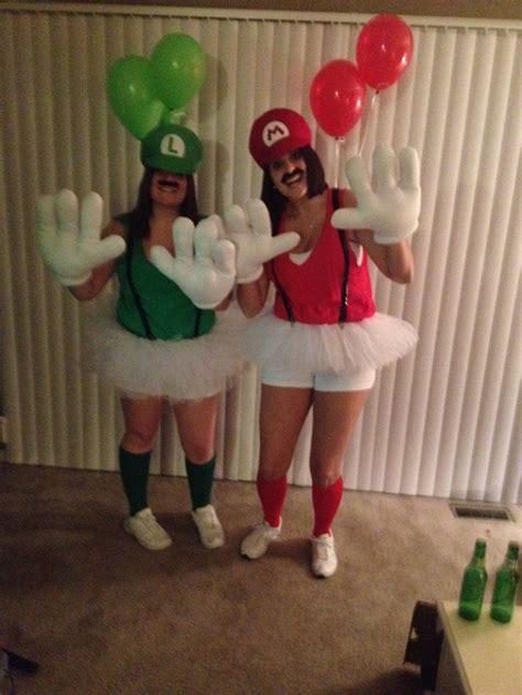 another best friend halloween costume mario and luigi