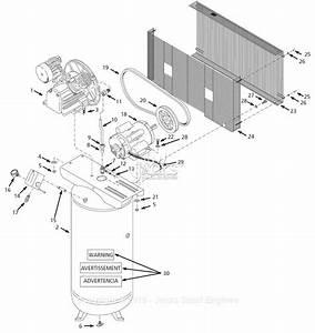 Campbell Hausfeld Hs418000aj Parts Diagram For Air