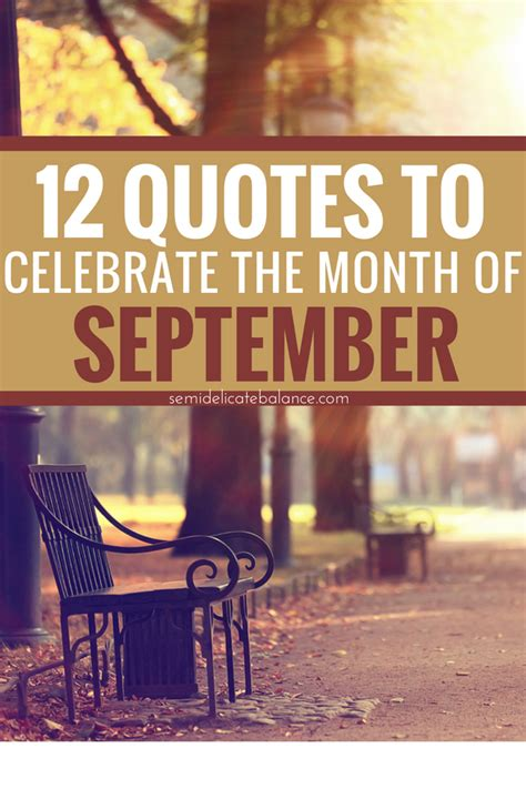 12 September Quotes to Celebrate the Month and the ...