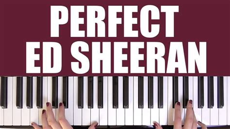 Perfect Ed Sheeran Piano Cover