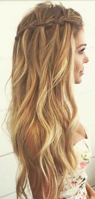 peinados  pelo largo  ondulado