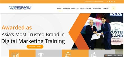 list of marketing courses top 10 digital marketing institutes in india