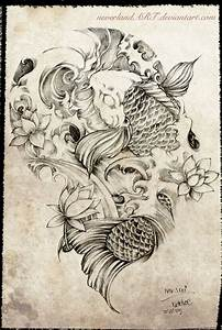 Koi Tattoo Vorlagen : pin by bradley mcaree on tattoo ideas pinterest tattoo ideen asiatische tattoos and ~ Frokenaadalensverden.com Haus und Dekorationen