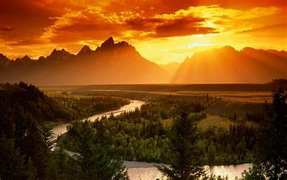 Teton Grand Snake River National Wallpapers Park