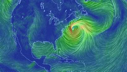 Wind Coast Storm Marble Weather Blown Map