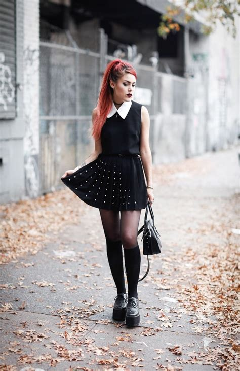 grunge style clothes  outfit ideas  perfect grunge