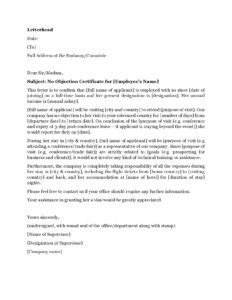 The ideal introduction letter for visa application | Afro