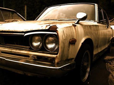 old Nissan sports car