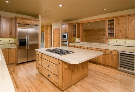 wood kitchen floors 52 enticing kitchens with light and honey wood floors 6466