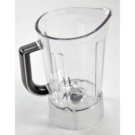 Kitchenaid Blender Blade Replacement by Kitchenaid Blender Jar Silver For Ksb580 Ksb560 Walmart