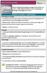 Comment Choisir Sa Couette : bien choisir sa couette les fiches pratiques ~ Preciouscoupons.com Idées de Décoration