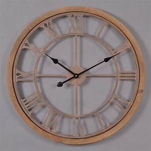 Grande Horloge Murale Design : grande horloge murale blanche galerie avec grande horloge ~ Nature-et-papiers.com Idées de Décoration