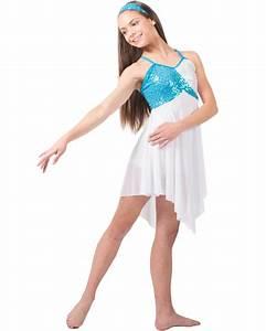 Beautiful Day White Lyrical Dance Costume | KIDS COSTUMES