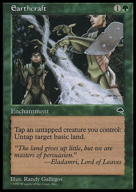 Squirrel Nest Mtg Deck by Earthcraft Mtg Card