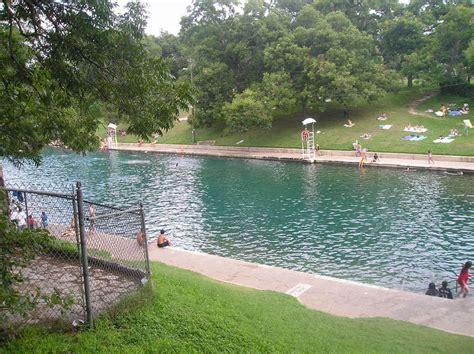 Barton Springs Park Swimming Pool Photo