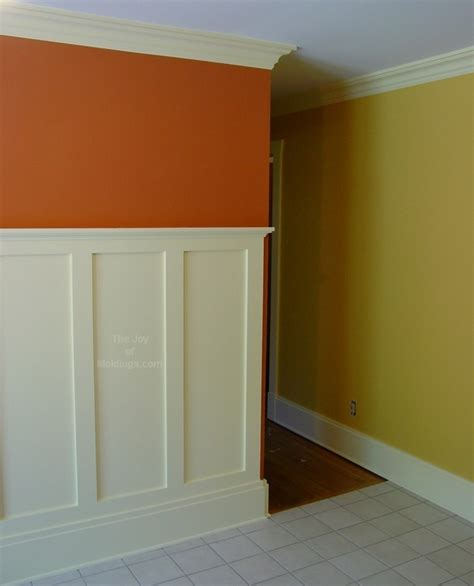 Craftsman Wainscoting by Baseboard And Wainscoting Craftsman Style The