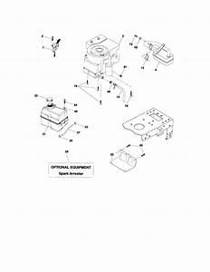 Engine Diagram  U0026 Parts List For Model 917276813 Craftsman
