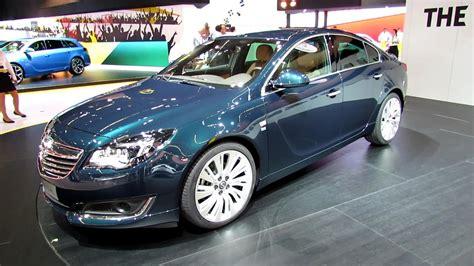 opel insignia 2014 2014 opel insignia turbo exterior and interior wolkaround 2013 frankfurt motor show