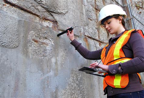 probe detects corrosion  reinforced concrete structures