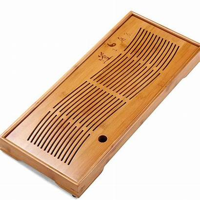 Tea Tray Serving Bamboo Board Plate