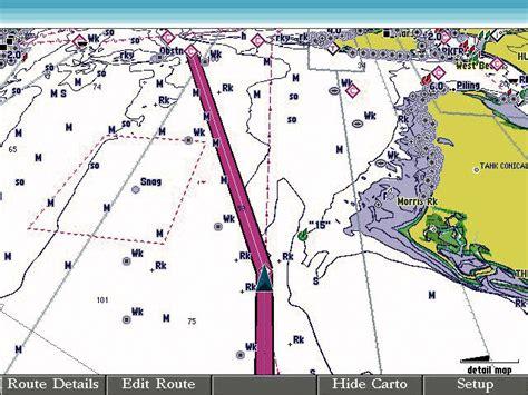 garmin bluechart  marine cartography   view