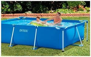 Piscine Tubulaire Intex : piscine intex hors sol tubulaire metal frame junior ~ Nature-et-papiers.com Idées de Décoration