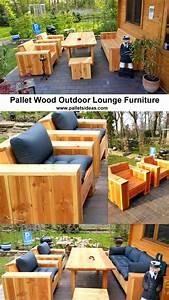 Pallet, Wood, Outdoor, Lounge, Furniture