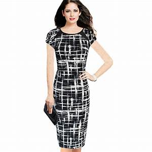 Aliexpress.com : Buy Summer Black And White Dresses Woman ...