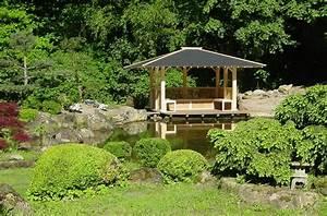 Pavillon Im Garten : japanischer pavillon mit insel im japangarten vom ~ Michelbontemps.com Haus und Dekorationen