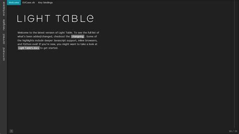 Light Table Ide by Web Development Ide For Javascript Html And Css Onlinecode