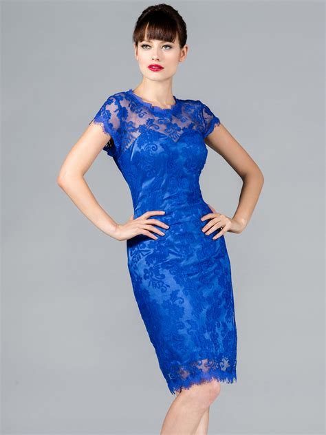 cocktail dress for wedding blue lace dress dressed up