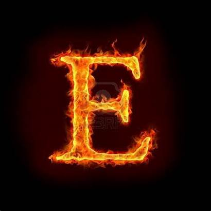 Fire Font Typography Flame
