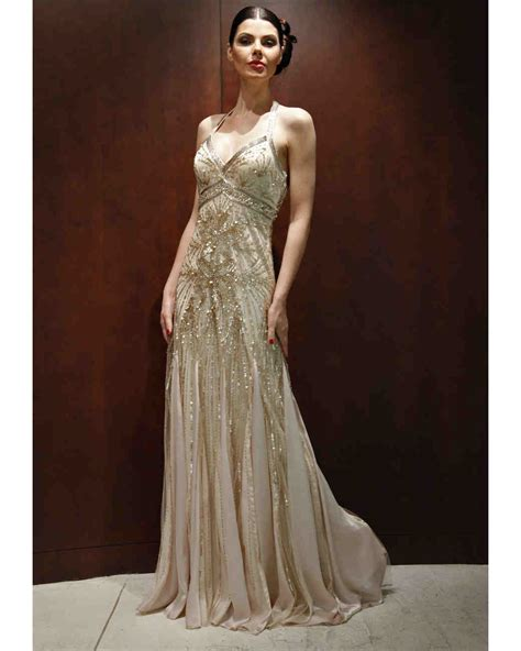 Gold Wedding Dresses Fall 2012 Bridal Fashion Week
