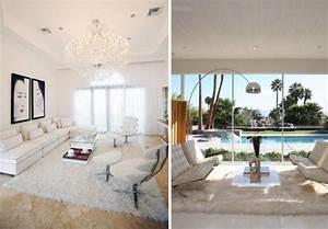 tapis shaggy gris beige ou blanc en 120 idees pour le salon With tapis shaggy avec meubles conforama canapé