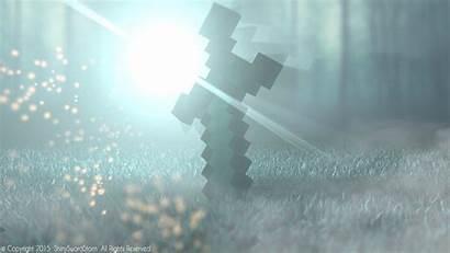 Sword Minecraft Diamond Cool Thompson Christopher Posted