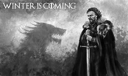 Coming Winter Stark Eddard Wallpapersafari Deviantart