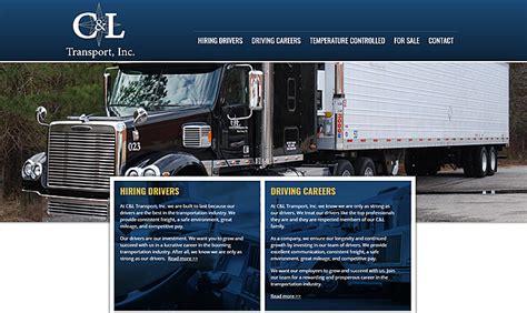 transport portfolio biz tools  web design