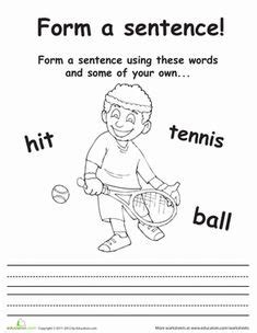 sports lessons images worksheets  kids sports