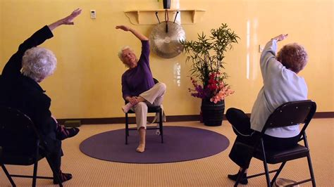 chair sequences for seniors strong and hips for seniors seated and standing