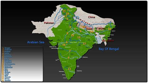 top rivers  india youtube