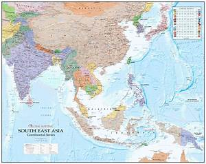 Continental, Series, South, East, Asia, Map