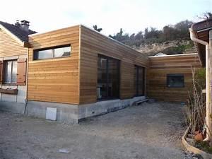 Extension Ossature Bois : extension a ossature bois comment agrandir sa maison ~ Melissatoandfro.com Idées de Décoration