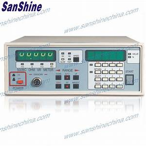 China Dc Resistance Tester Dc Winding Resistance Meter