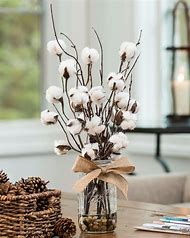 Cotton Flower Arrangement